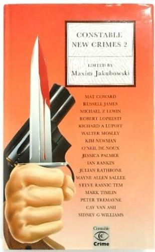 New Crime By Edited by Maxim Jakubowski