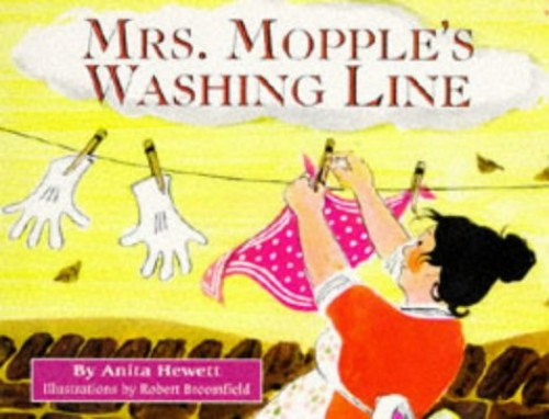 Mrs. Mopple's Washing Line (Red Fox picture books) By Anita Hewett