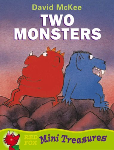 Two Monsters (Mini Treasure S.) By David McKee