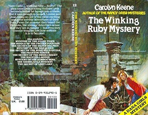 Winking Ruby Mystery By Carolyn Keene