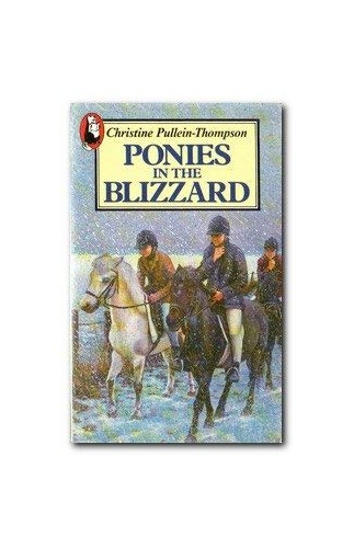 Ponies in the Blizzard By Christine Pullein-Thompson