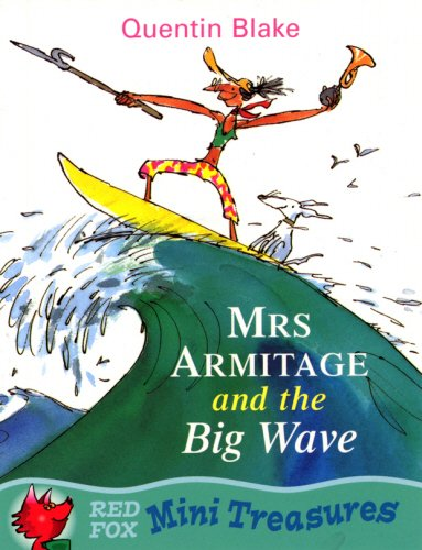 Mrs Armitage And The Big Wave By Quentin Blake
