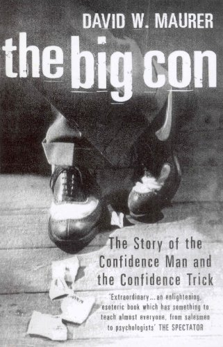 The Big Con By David W. Maurer