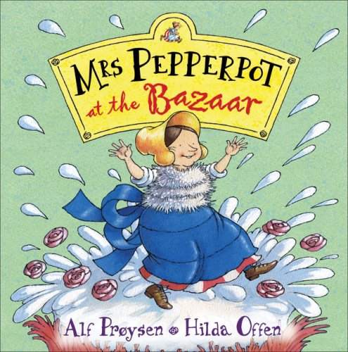 Mrs Pepperpot At The Bazaar By Alf Proysen