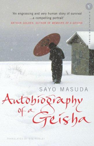 Autobiography Of A Geisha (Vintage Original) By Sayo Masuda