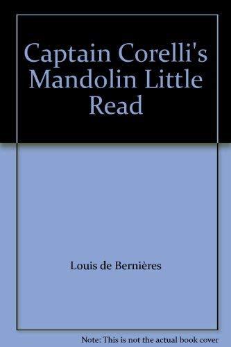 Captain Corelli's Mandolin Little Read By Louis de Bernieres