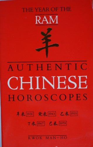 Authentic Chinese Horoscopes By Man-Ho Kwok