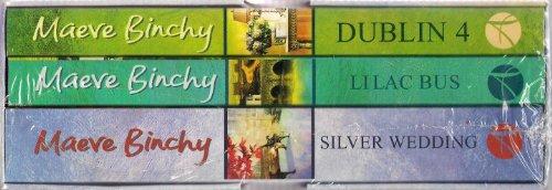 Maeve Binchy 3 book boxed set - RRP £17.97 - Dublin 4, Lilac Bus, Silver Wedding