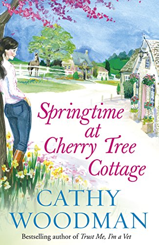 Springtime at Cherry Tree Cottage by Cathy Woodman