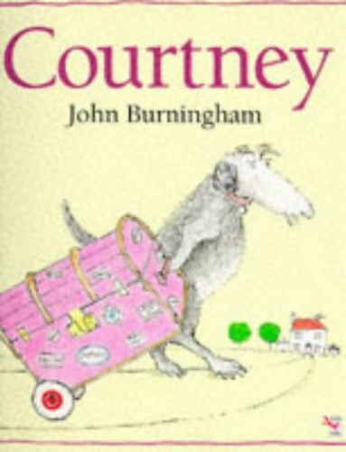 Courtney (Red Fox Picture Books) By John Burningham