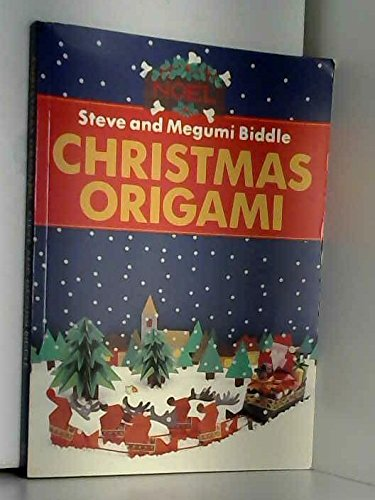 The Christmas Origami Book (Red Fox activity books) By Steve Biddle