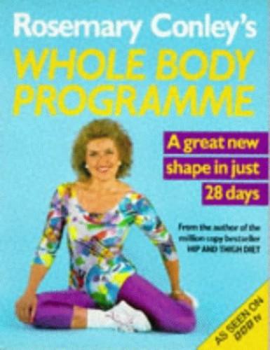 Rosemary Conley's Whole Body Programme By Rosemary Conley