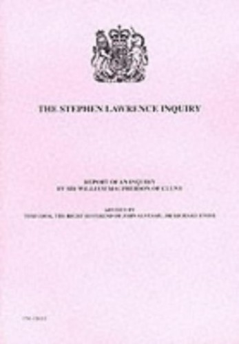 The Stephen Lawrence Inquiry By William Macpherson