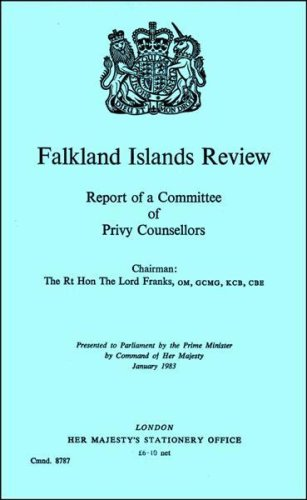 Falkland Islands Review: Report of a Committee of Privy Counsellors. Chmn.Lord Franks (Command 8787)