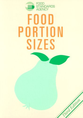 Food Portion Sizes by Food Standards Agency