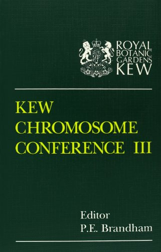 Kew Chromosome Conference III By Edited by P. E. Brandham