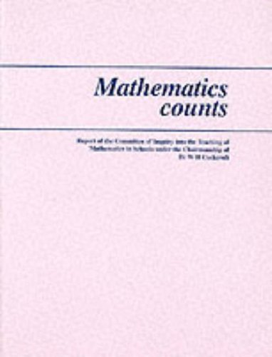 Mathematics Counts By Education & Science,Dept.of