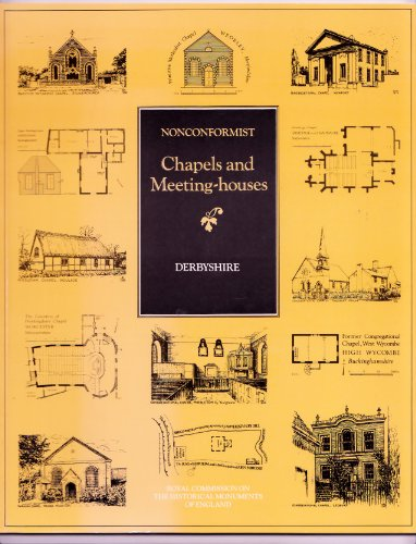 Inventory of Nonconformist Chapels and Meeting Houses in Central England By Royal Commission on Historical Monuments