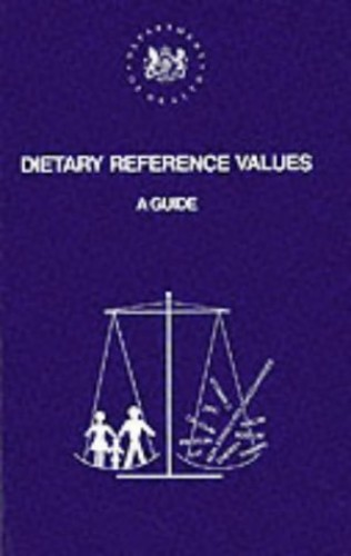 Dietary Reference Values By Dept.of Health