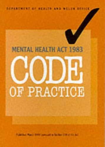 Code of Practice By Dept.of Health