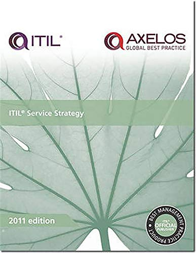 ITIL Service strategy By Great Britain: Cabinet Office