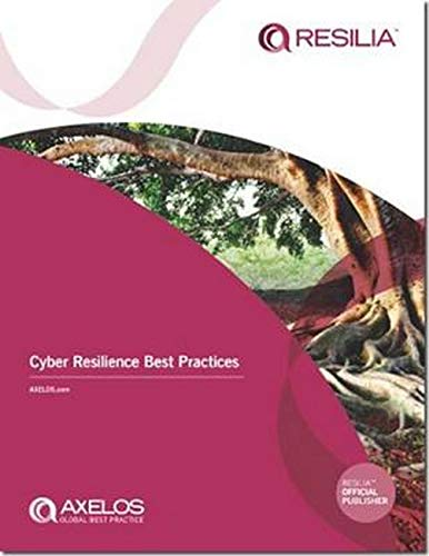 Cyber Resilience Best Practices By Axelos
