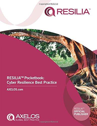 RESILIA pocketbook By AXELOS