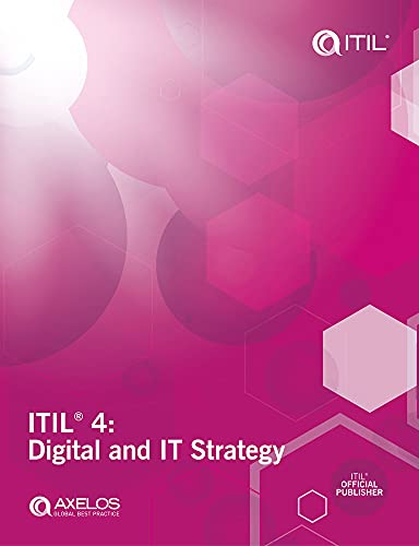ITIL 4: Digital and IT Strategy By AXELOS