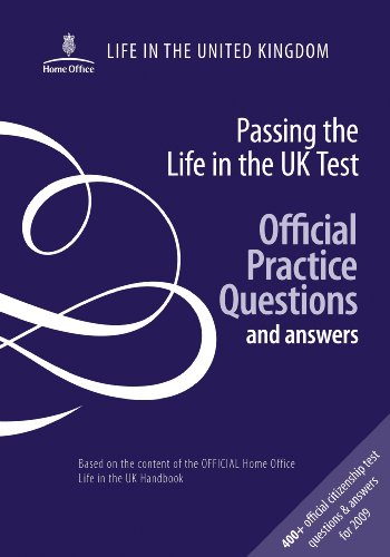 Passing the life in the UK test: official practice questions and answers