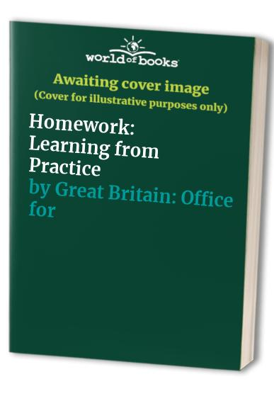 Homework By Great Britain: Office for Standards in Education