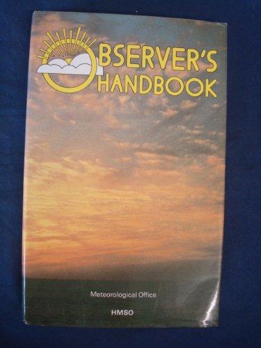 Observer's Handbook By Meteorological Office