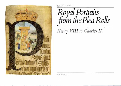 Royal Portraits from the Plea Rolls By Public Record Office