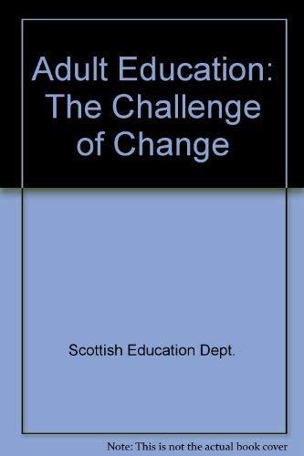 Adult Education By Scottish Education Dept.
