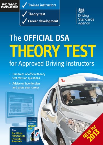 The Official DSA Theory Test for Approved Driving Instructors By Driving Standards Agency