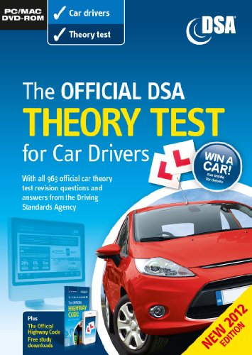 The Official DSA Theory Test for Car Drivers DVD-ROM - 2012 (PC/Mac) By Driving Standards Agency