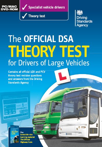 The official DSA theory test for drivers of large vehicles DVD-ROM By Driving Standards Agency