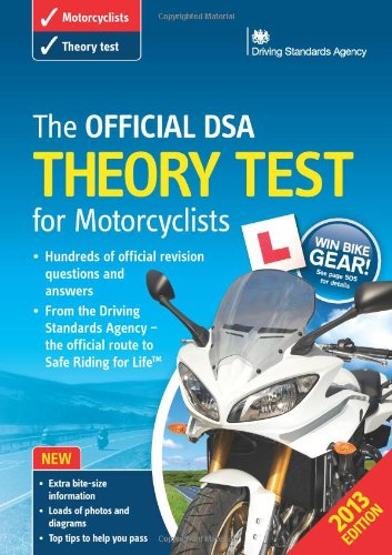 The Official DSA Theory Test for Motorcyclists by Driving Standards Agency