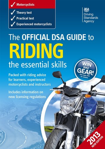 The official DSA guide to riding By Driving Standards Agency