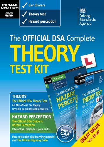 The Official DSA Complete Theory Test Kit - 2013 (PC/Mac) By Driving Standards Agency