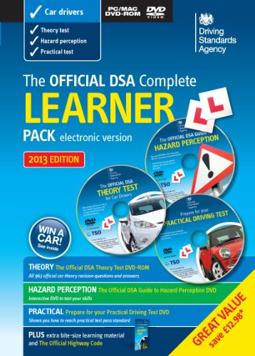 The Official DSA Complete Learner Driver Pack By Driving Standards Agency