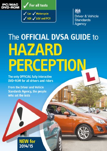 The official DVSA guide to hazard perception DVD-ROM by Driver and Vehicle Standards Agency (DVSA)