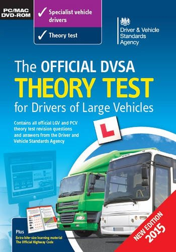 The Official DVSA theory test for drivers of large vehicles DVD-ROM By Driver and Vehicle Standards Agency