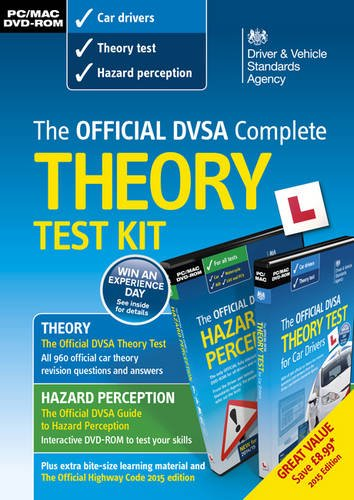 DVSA Official Theory Test Kit 2015 By Driver and Vehicle Standards Agency (DVSA)