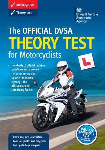 The Official DVSA Theory Test for Motorcyclists Book By Driver and Vehicle Standards Agency