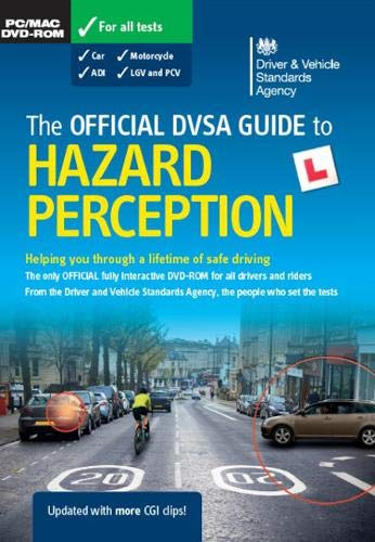 The official DVSA guide to hazard perception DVD-ROM (Theory Test) By Driver and Vehicle Standards Agency