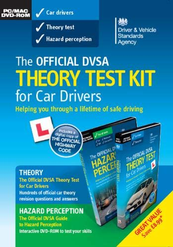 The official DVSA theory test KIT for car drivers pack By Driver and Vehicle Standards Agency