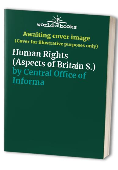 Human Rights By HMSO Books