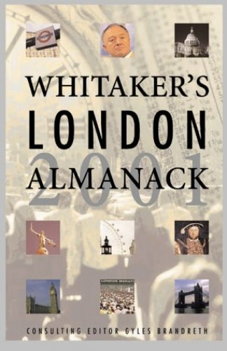 Whitaker's London Almanack By Edited by Lauren Hill