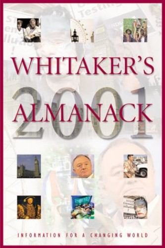 Whitaker's Almanack By Volume editor Lauren Hill
