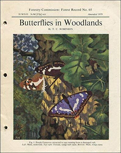 Butterflies in Woodlands By Great Britain: Forestry Commission